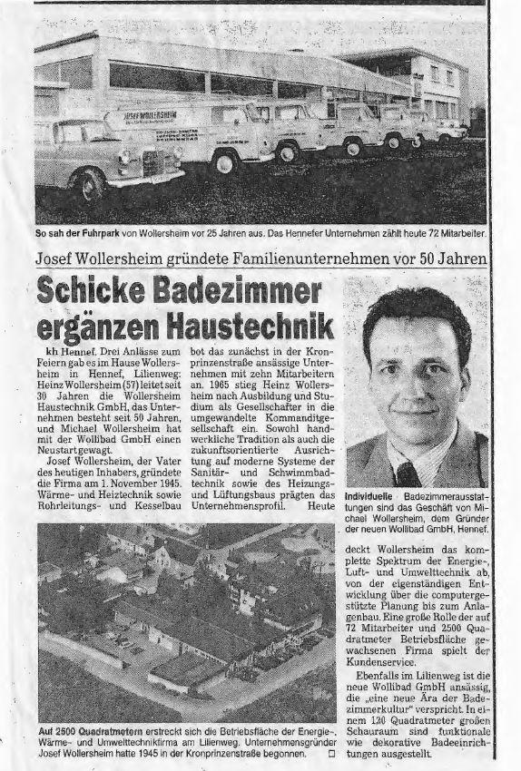 Pressetext Wollersheim